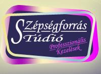 Szépségforrás Stúdió - Vecsés. Telepi út 50 - logó
